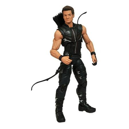 Diamond Select Toys Marvel Select: Avengers Movie Hawkeye Action Figure