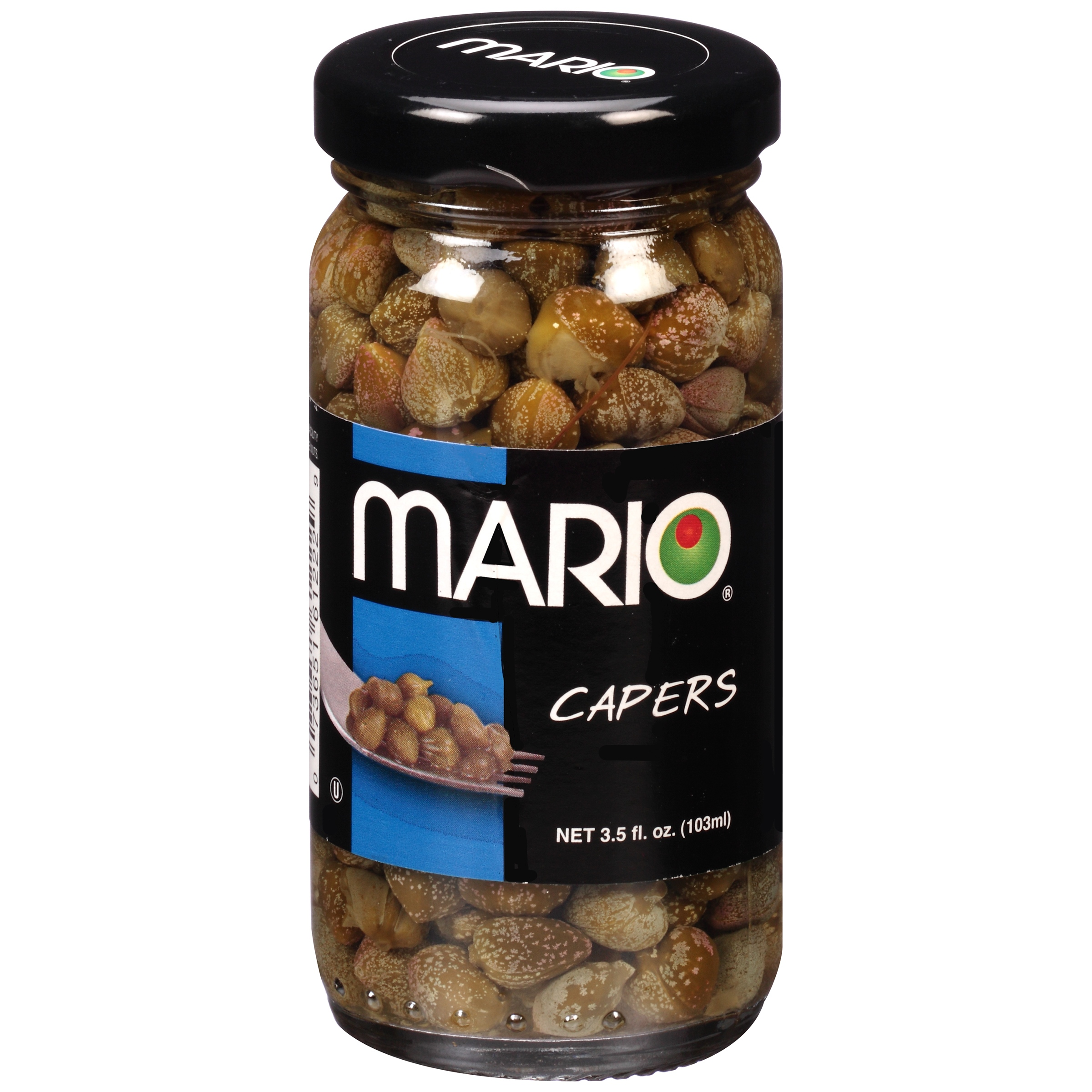 Mario Capers Nonpareil 3.5oz by Mario Camacho Foods