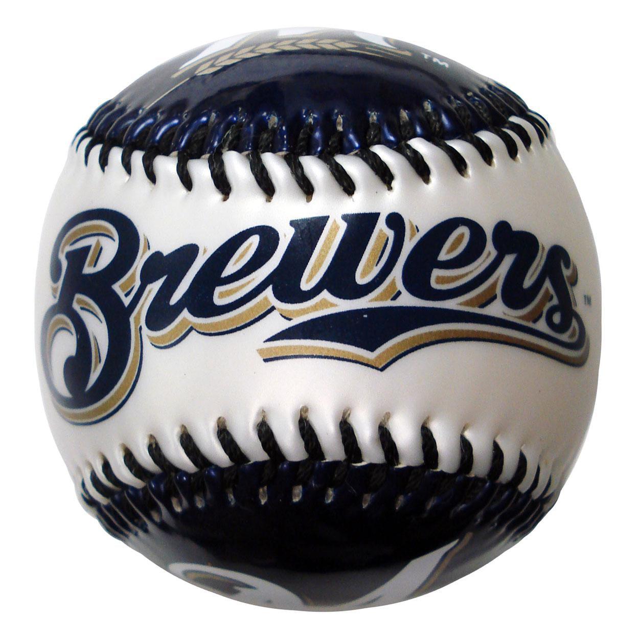 Franklin Soft Strike Baseball - Milwaukee Brewers Milwaukee Brewers FRANBBMILBB