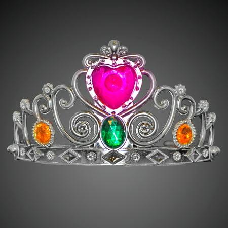 FlashingBlinkyLights Blinking Heart Princess Crown Tiara](Heart Tiara)