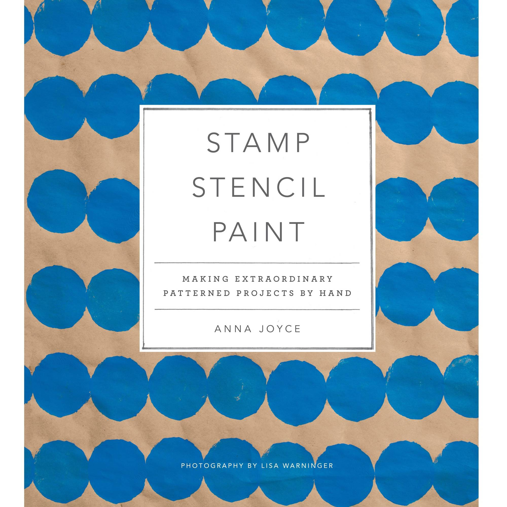 Stewart Tabori & Chang Books Stamp Stencil Paint