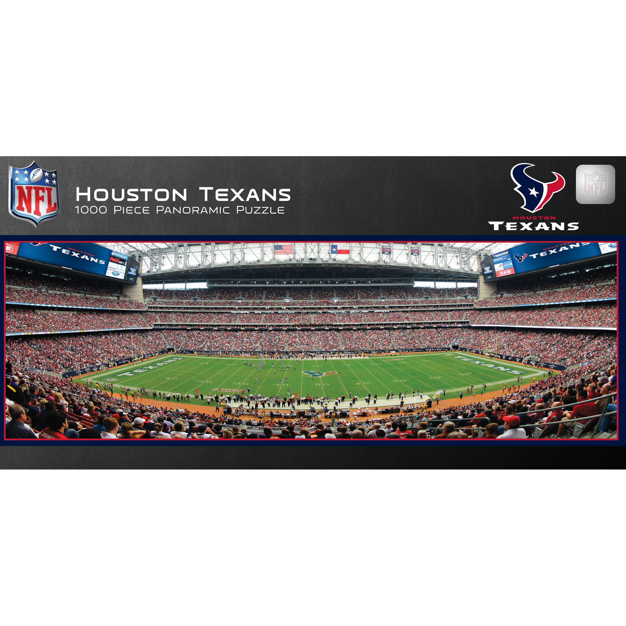 Master Pieces Houston Texans Panoramic Stadium Puzzle, 1,000 Pieces