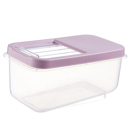 babydream1 Home Cereal Container Airtight Dispenser Locking Lids Measure Cup Rice Flour Box Grain Dry Food Storage Case - image 1 of 7