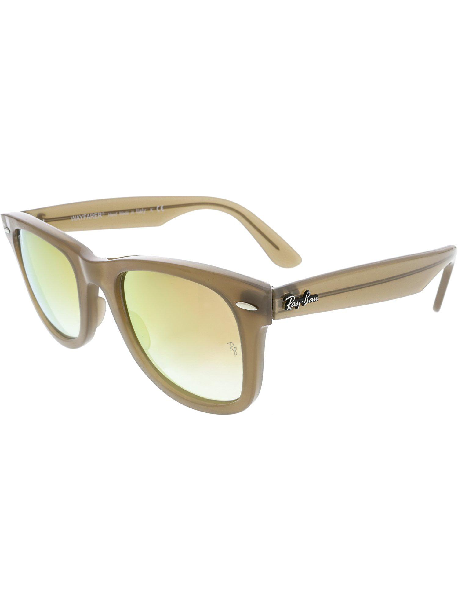 f4470da753 ... store ray ban womens gradient wayfarer ease rb4340 61667y 50 brown  sunglasses ac7ad 12b92