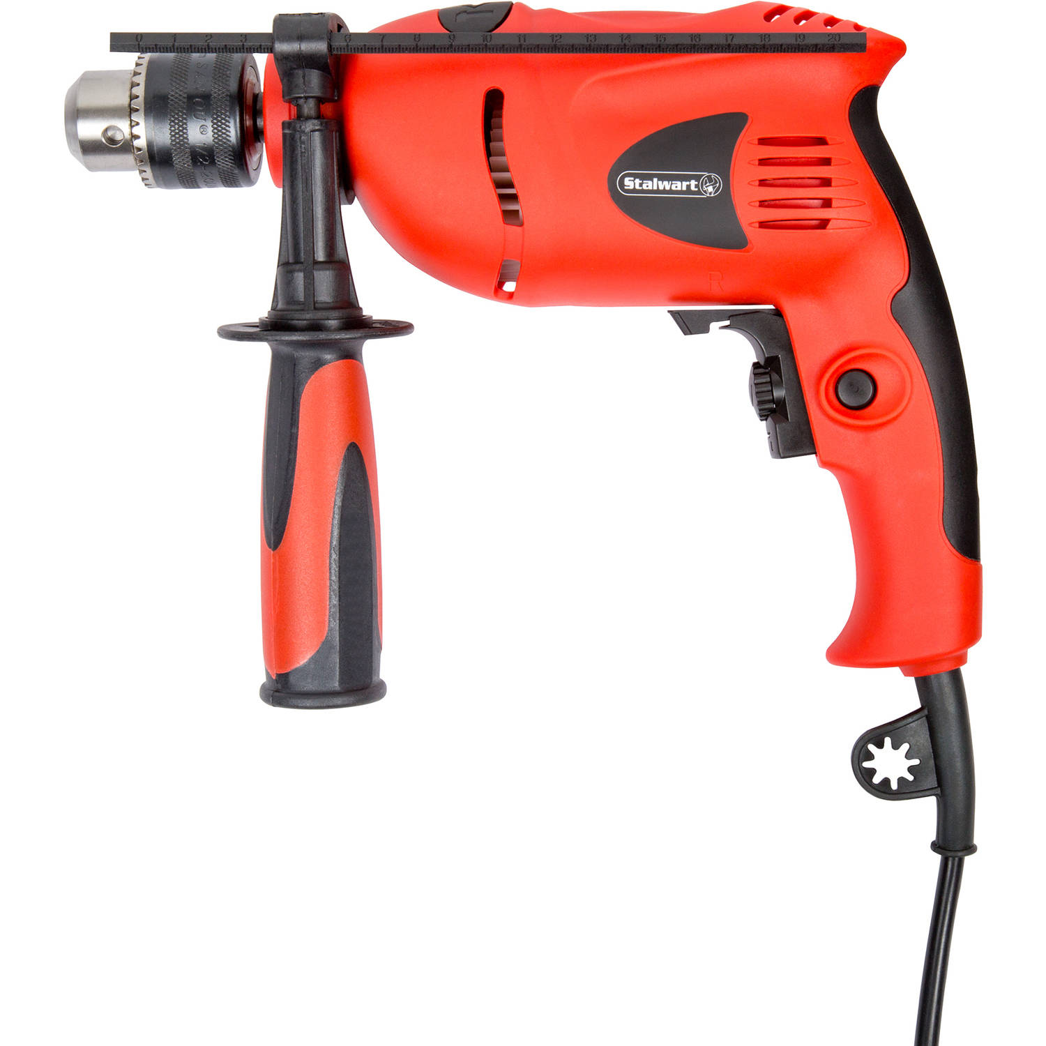 Stalwart 5.0 Amp 120V Variable Speed Hammer Drill, 1/2""