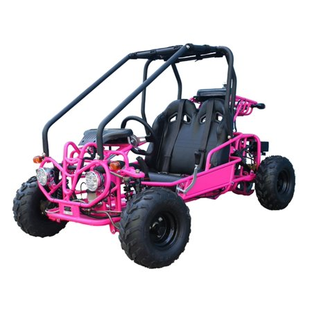 8d852e938891 Pink TAOTAO GK110 110CC Youth Go Kart, Air Cooled, 4-Stroke, 1-Cylinder,  Automatic with Reverse