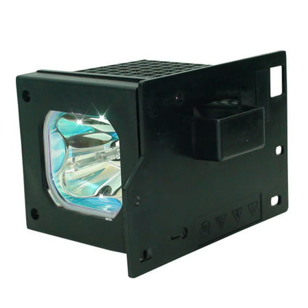 Lutema TV Replacement Lamp with Housing / Bulb for Hitachi