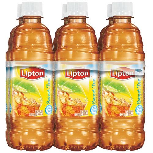 Lipton Sweet Tea, 16.9 fl oz, 6 pack