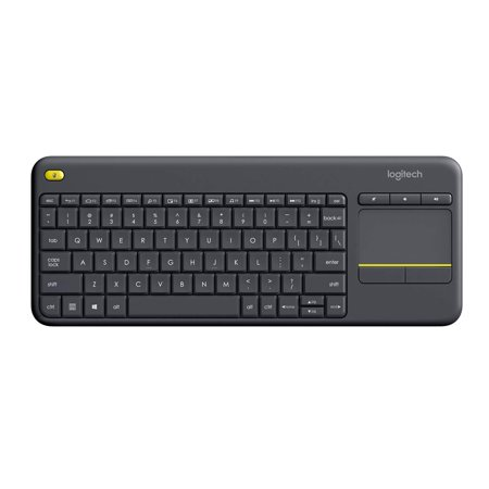 Logitech WIRELESS TOUCH KEYBOARD K400 PLUS HTPC keyboard for PC connected TVs