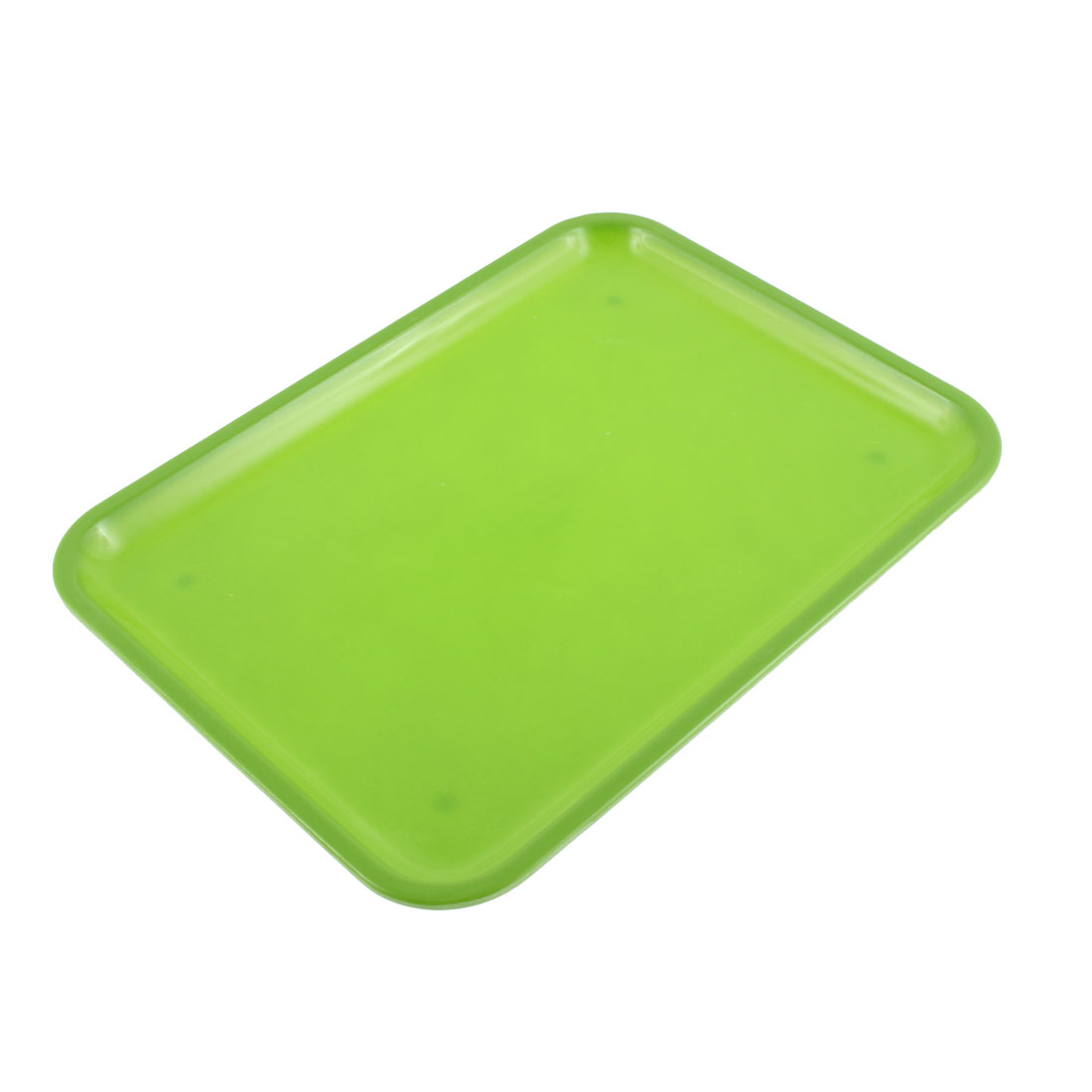 """Unique Bargains Restaurant Plastic Rectangle Food Candy Drinks Serving 10"""" Length Tray"""
