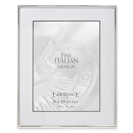 8x10 Simply Silver Metal Picture Frame ()