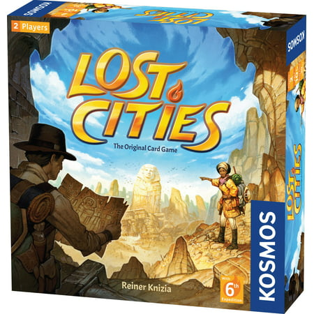 Lost Cities - Card Game - With 6th Expedition (The City Card Game)