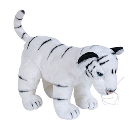 Adventure Planet Plush - WHITE TIGER ( 8 inch )