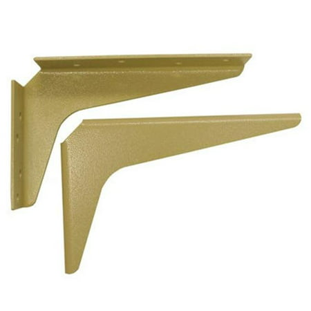 Workstation Brackets - A & M Hardware Am1218 A 12 In. X 18 In. Work Station Brackets - Almond