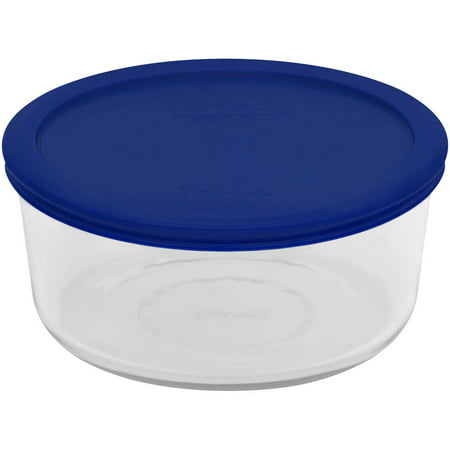 Pyrex 7 Cup Round Storage Dish (12 Cup Glass Container)