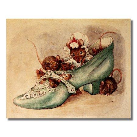 Beatrix Potter Appley Dappley Nursery Rhymes Wall Picture 8x10 Art Print