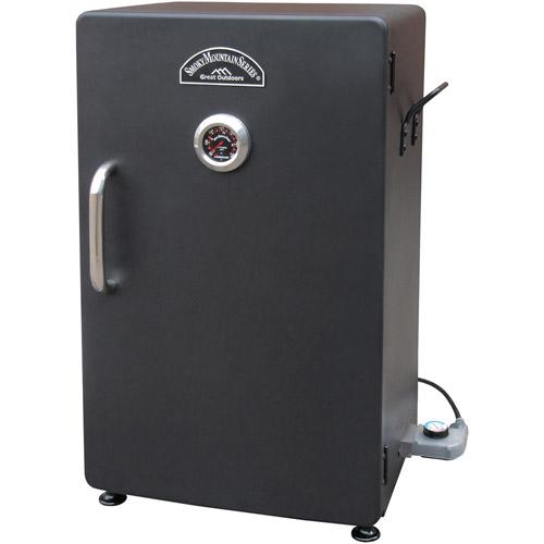 "Landmann Smoky Mountain 26"" Vertical Electric Smoker Steel - Black"