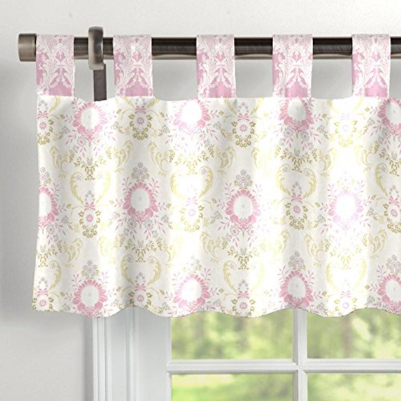 Carousel Juliet Window Valance Tab-Top