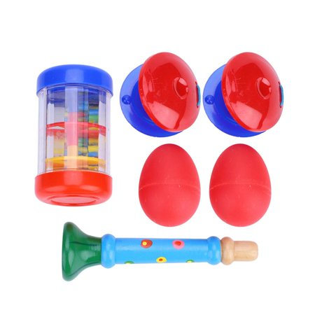 Topincn Instruments Toy Set Kids Musical Instruments Toy 6pcs