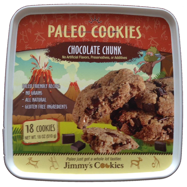 Jimmys cookies chocolate chunk paleo cookies 18 cookies walmart negle Gallery