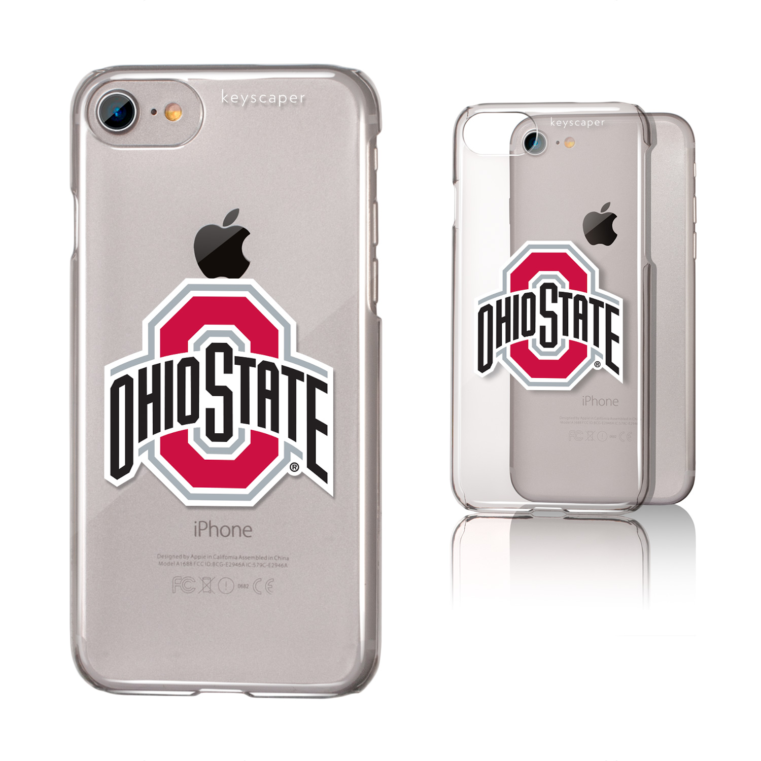 Ohio State University iPhone 7 Clear Case