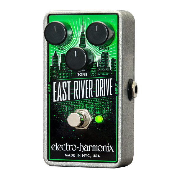 Electro-Harmonix East River Drive Overdrive Guitar Effects Pedal by Electro-Harmonix