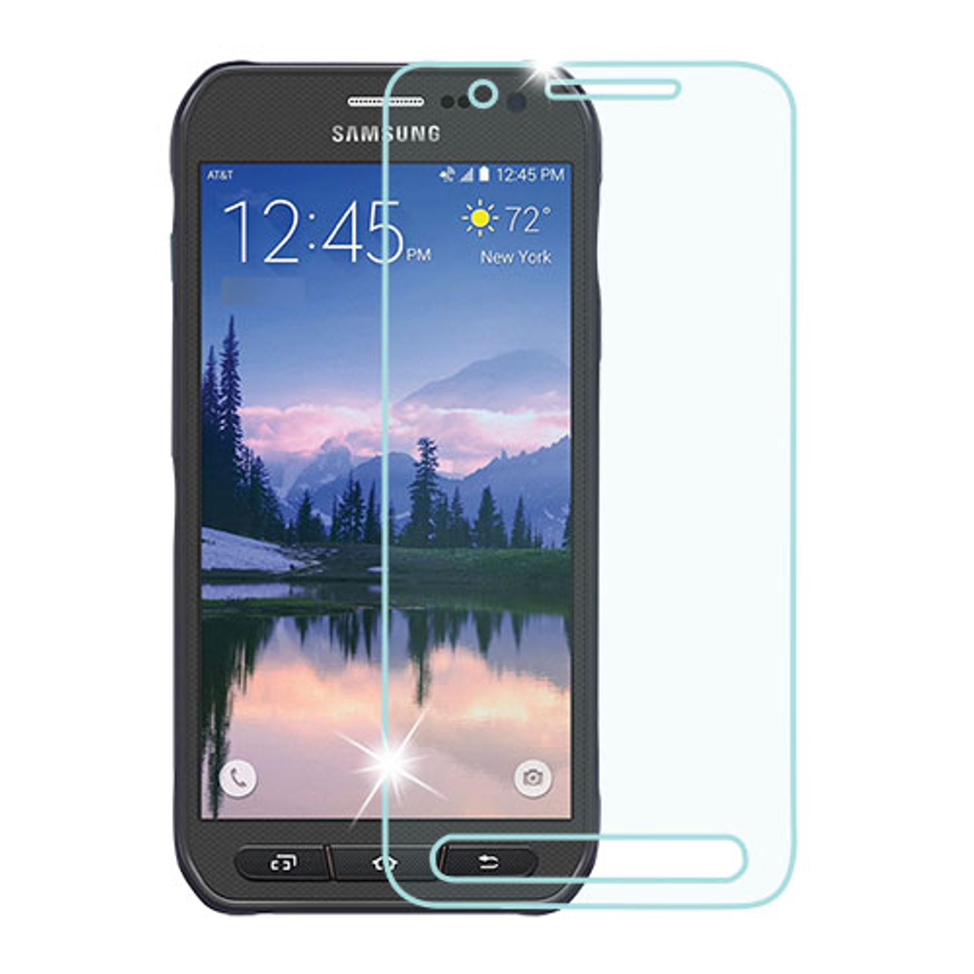 Insten Clear Tempered Glass LCD Screen Protector Film Cover For Samsung Galaxy S7 Active
