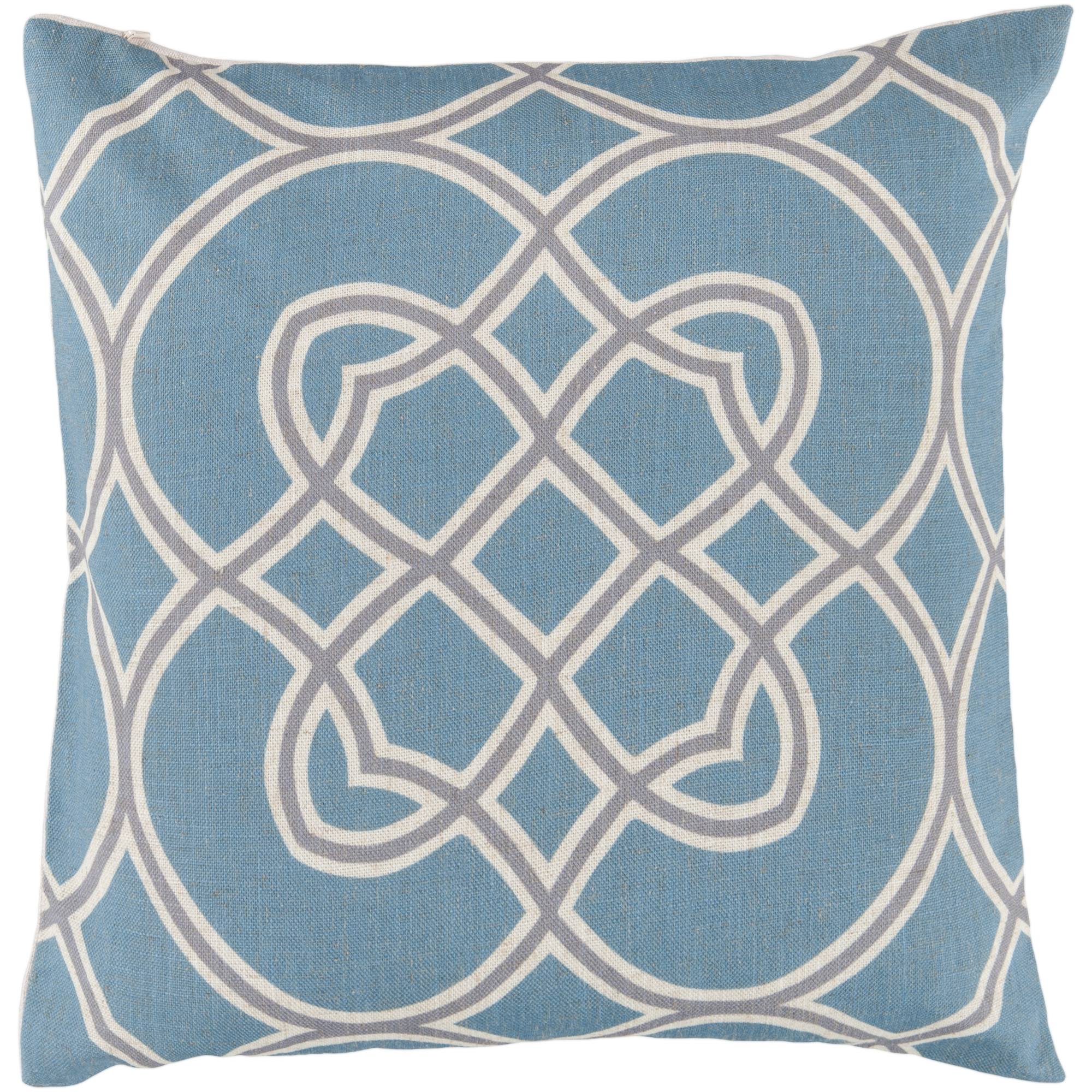 "Art of Knot Cagliari 18"" x 18"" Pillow (with Down Fill)"