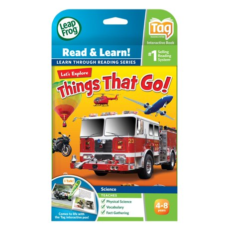 Leapfrog leapreader book lets explore things that go works with tag gumiabroncs Gallery