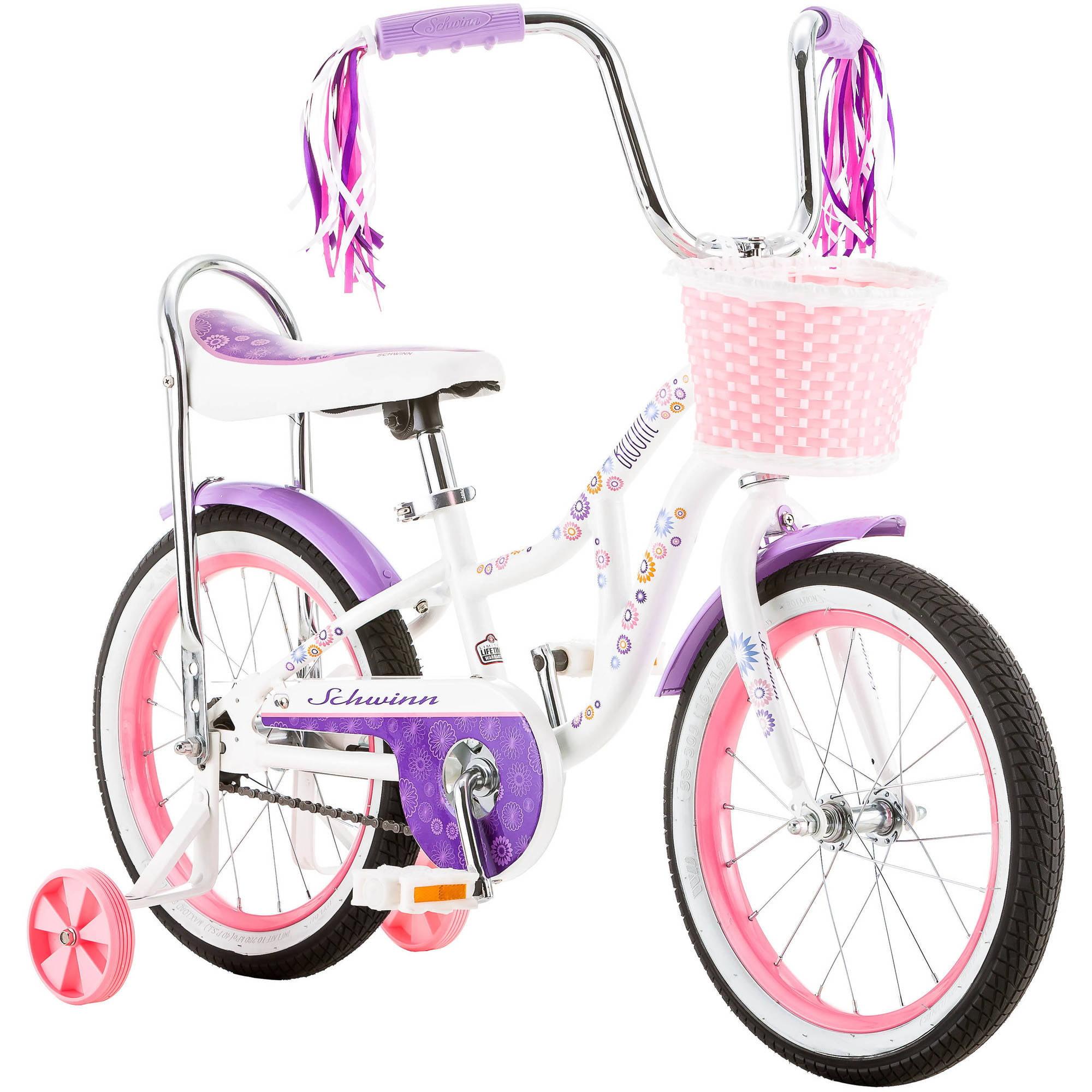 """16"""" Schwinn Girls' Bloom Bike"""