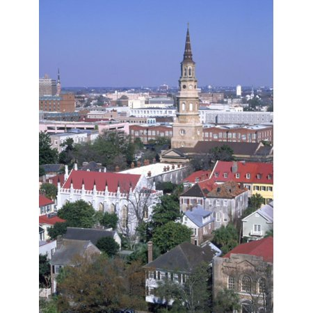 View of Historic District, Charleston, SC Print Wall Art By Ron