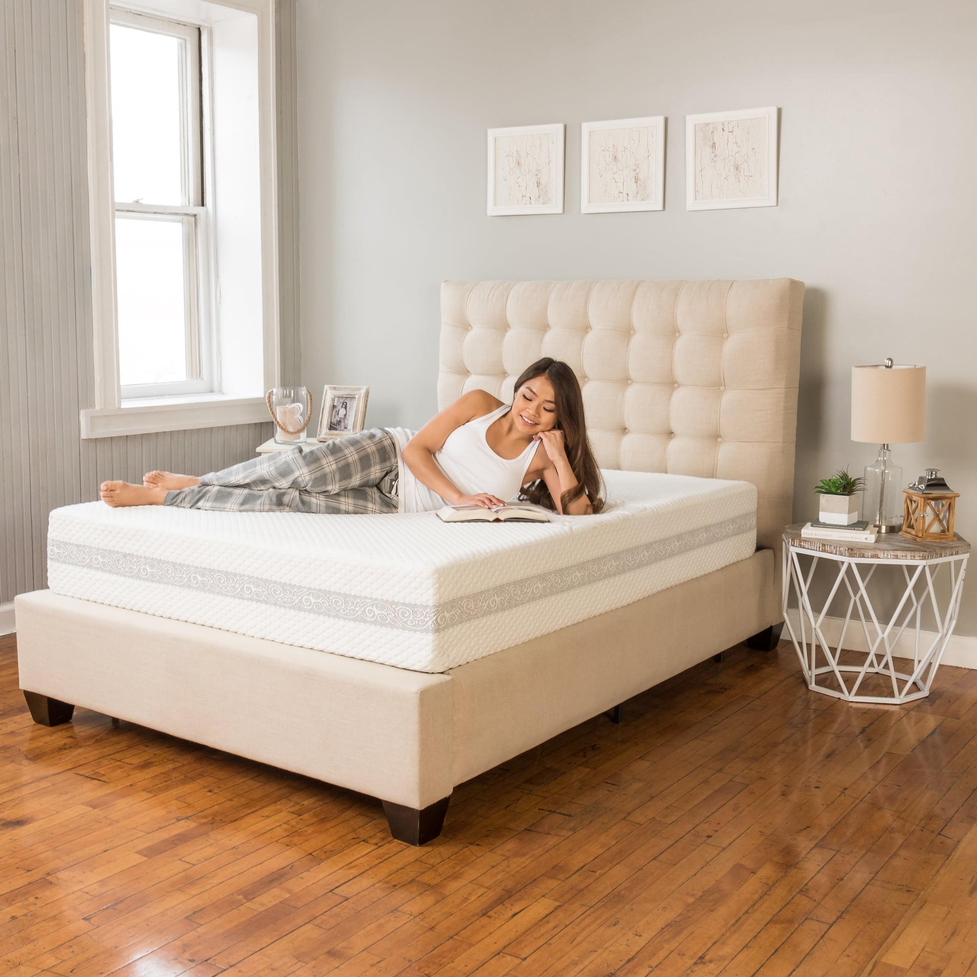 Modern Sleep Engage Gel Memory Foam and Innerspring Hybrid 11-Inch Mattress, Multiple... by Classic Brands