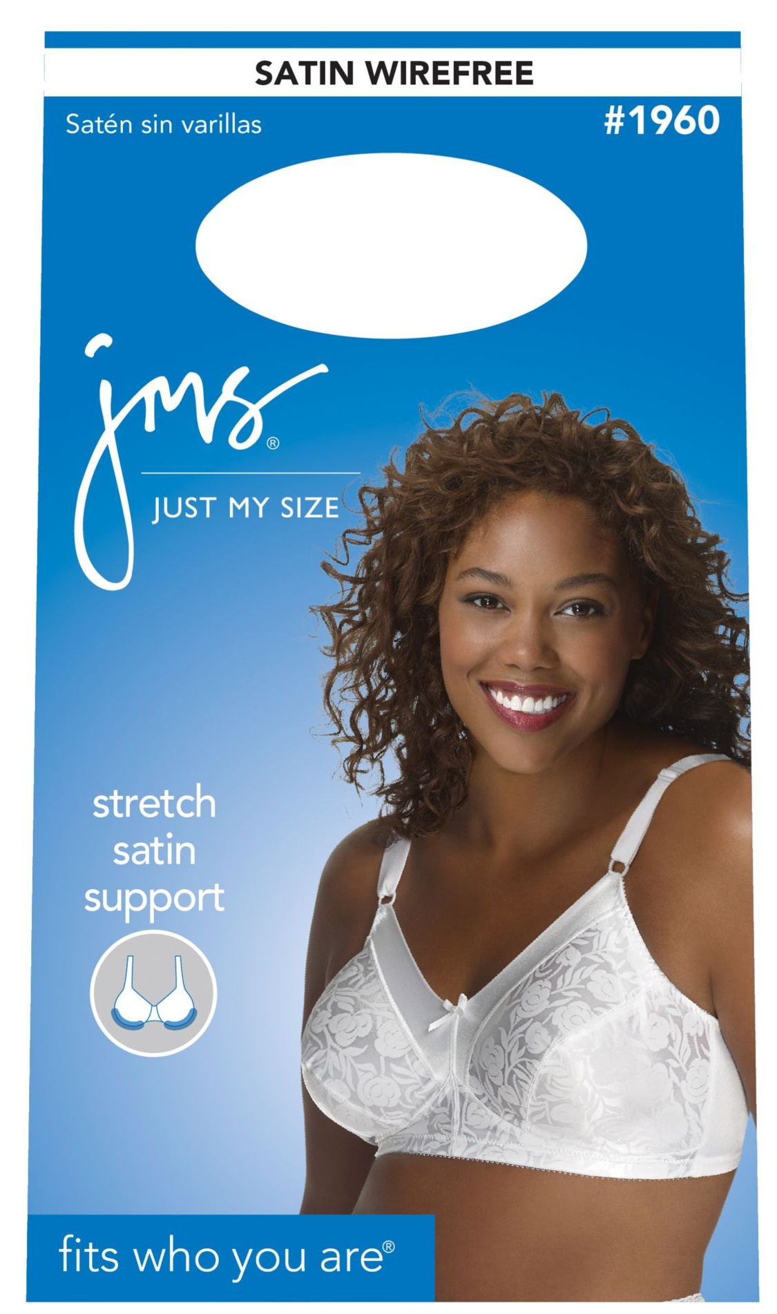 9e680e5411 Just My Size - Women s Satin Stretch Wireless Bra