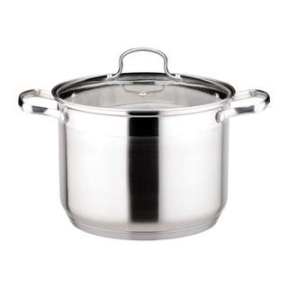 Dishwasher Safe Stainless Steel Oven (Le Stock Pot 4 Quart Stockpot   Tempered Glass Lid, Induction Compatible, Oven and Dishwasher Safe, 18/10 Stainless Steel Construction )