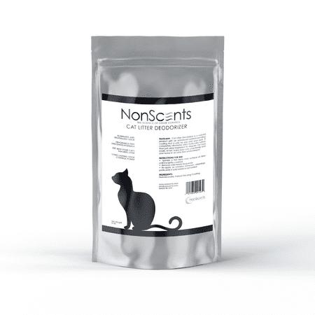 NonScents Cat Litter Deodorizer - Completely Eliminates Cat Litter Odor, 8