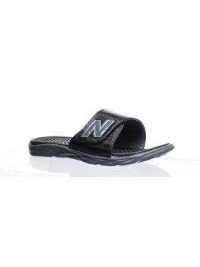 bff08be6f0 Product Image New Balance Response Slide Sandals for Men - Wide, Black &  Grey, ...