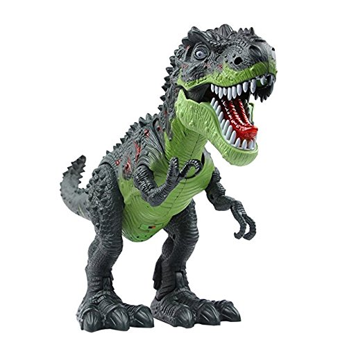 Movement Walking Dinosaur Toy for Girls Toddlers Older , Electronic Walking Tyrannosaurus Rex Dinosaur with... by Velocity Toys