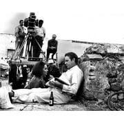 Elizabeth Taylor and Richard Burton on the set of Night of the Iguana Photo Print by Globe Photos LLC