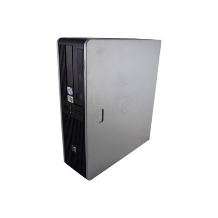 HP Compaq dc7900 SFF Refurbished PC - Intel Core 2 Duo E8400 3.0 GHz 4GB 320GB HDD DVD-RW Windows 10 Pro (Intel Core 2 Duo 3-0 Ghz Vs I5)