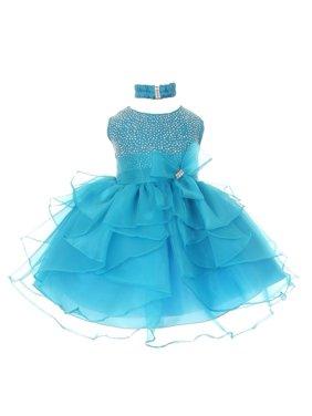 41ffc7322 Blue Baby Girls Dressy Dresses - Walmart.com
