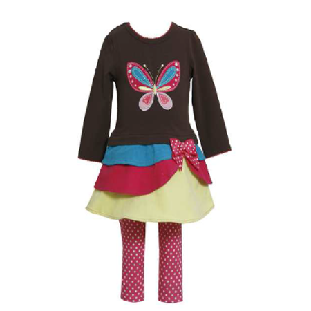 Bonnie Jean Girls Butterfly Legging Set  FINAL SALE 18 - Girls On Sale