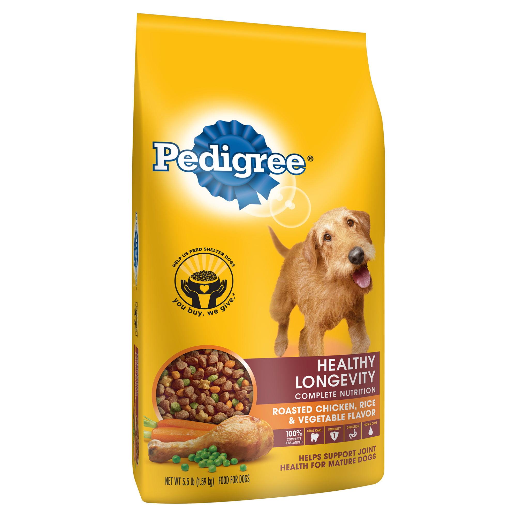Pedigree Healthy Longevity Targeted Nutrition Chicken Dry Dog Food