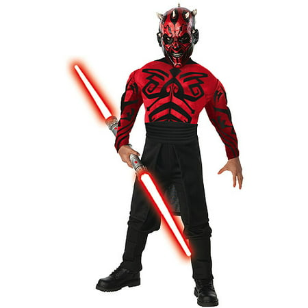 Deluxe Muscle Chest Darth Maul Child Halloween Costume