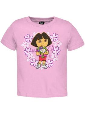 Dora The Explorer - Flowers Infant T-Shirt