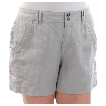 INC Womens Gray Straight leg Short  Size: 16