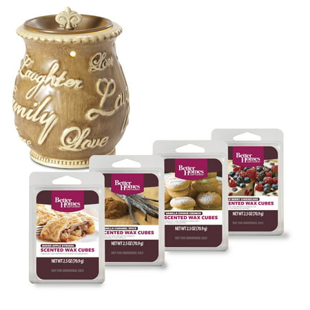 Better Homes & Gardens Expressions Full-Size Wax Warmer Starter Set