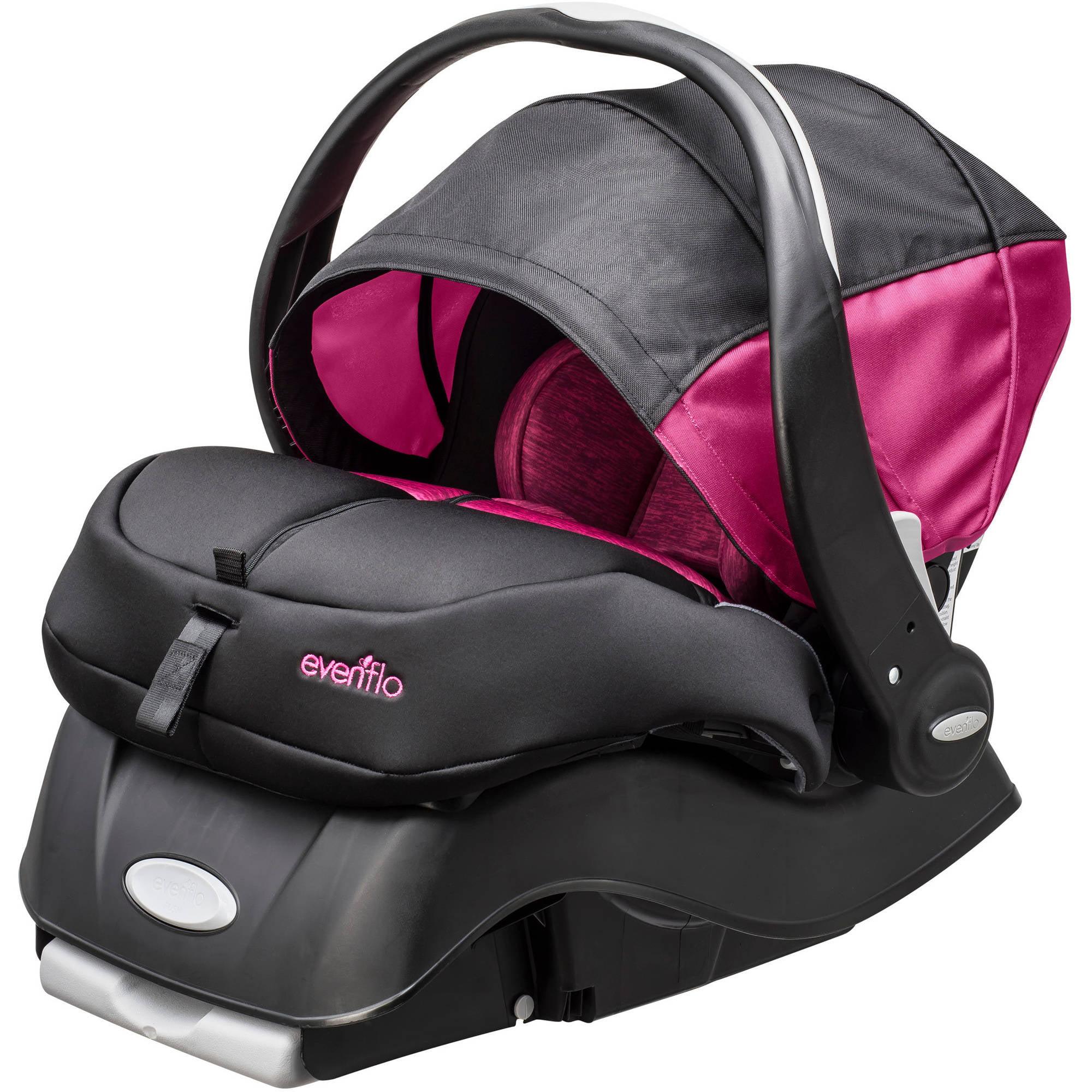 Evenflo advanced embrace dlx infant car seat with sensorsafe choose your pattern walmart com