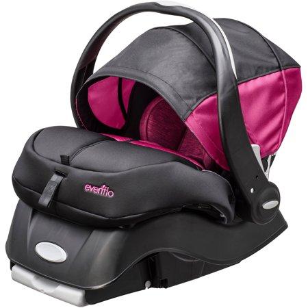 evenflo advanced embrace dlx infant car seat w sensorsafe choose your pattern best car seats. Black Bedroom Furniture Sets. Home Design Ideas