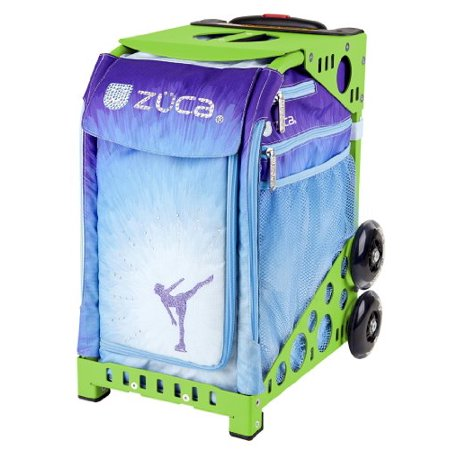 - Zuca Sport Ice Dreamz Insert & Green Frame with Flashing Wheels