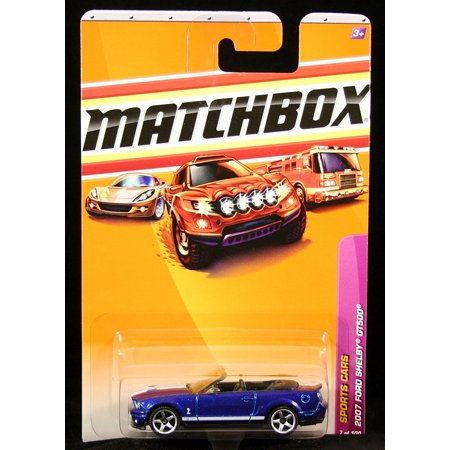 2007 FORD SHELBY GT500 Sports Cars Series (#7 of 15) 2010 Basic Die-Cast Vehicle (#7 of 100), 2007 FORD SHELBY GT500 Sports Cars Series (#7 of 15) MATCHBOX.., By (Ford Shelby Gt500 Super Snake For Sale)